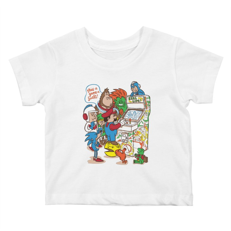 This Game Sucks Kids Baby T-Shirt by WanderingBert Shirts and stuff