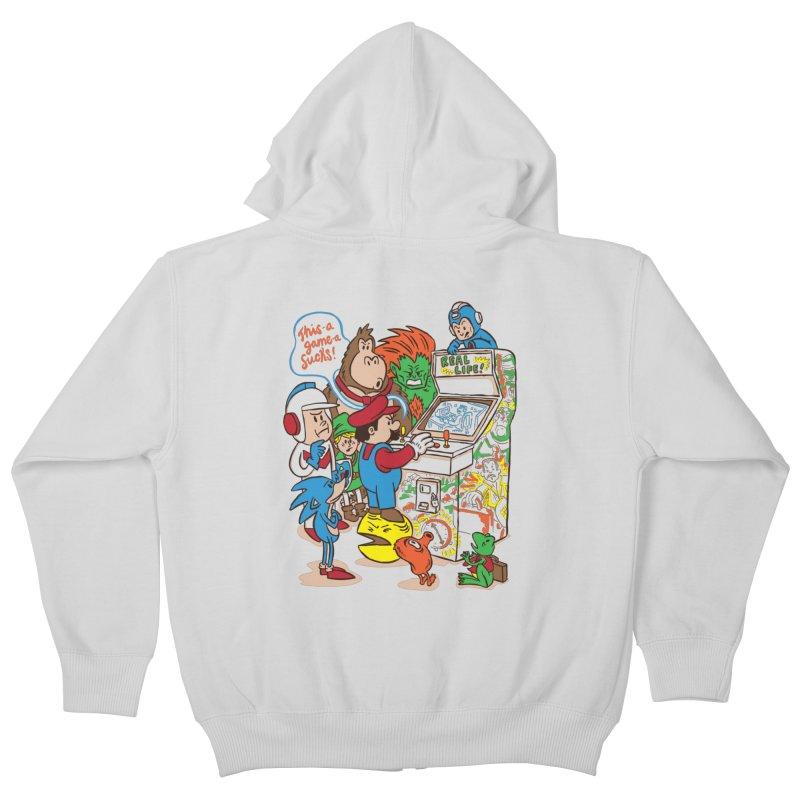 This Game Sucks Kids Zip-Up Hoody by WanderingBert Shirts and stuff