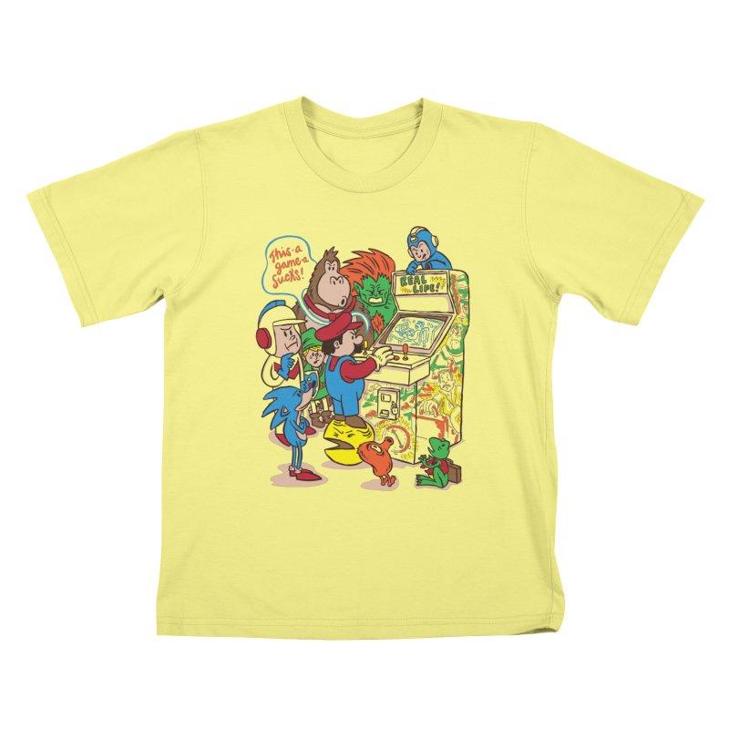 This Game Sucks Kids T-shirt by WanderingBert Shirts and stuff