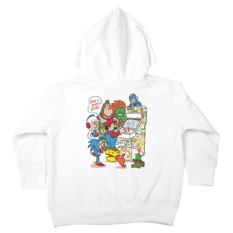 This Game Sucks Kids Toddler Zip-Up Hoody by WanderingBert Shirts and stuff
