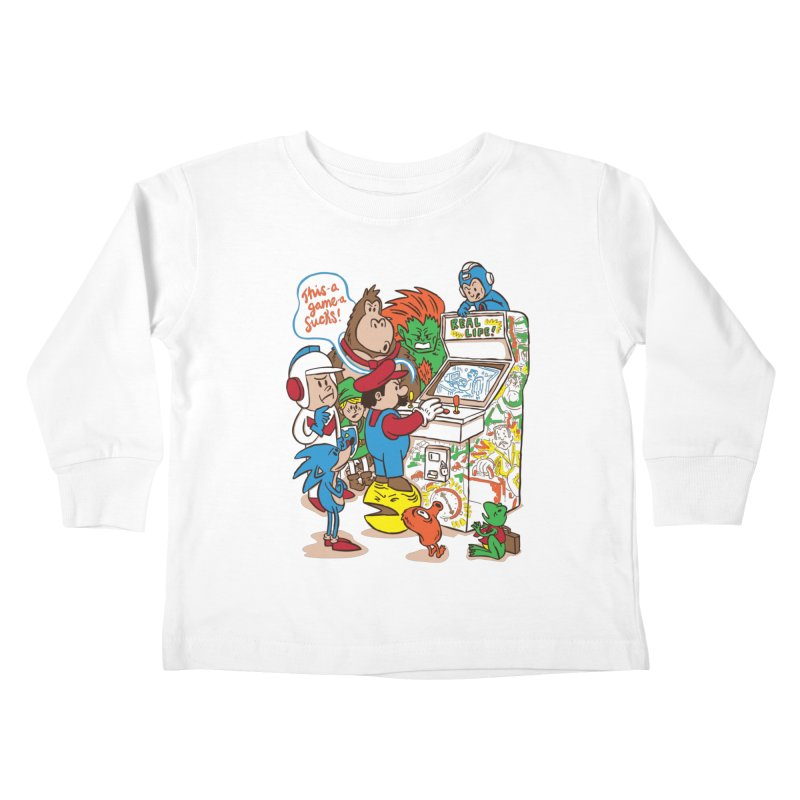 This Game Sucks Kids Toddler Longsleeve T-Shirt by WanderingBert Shirts and stuff