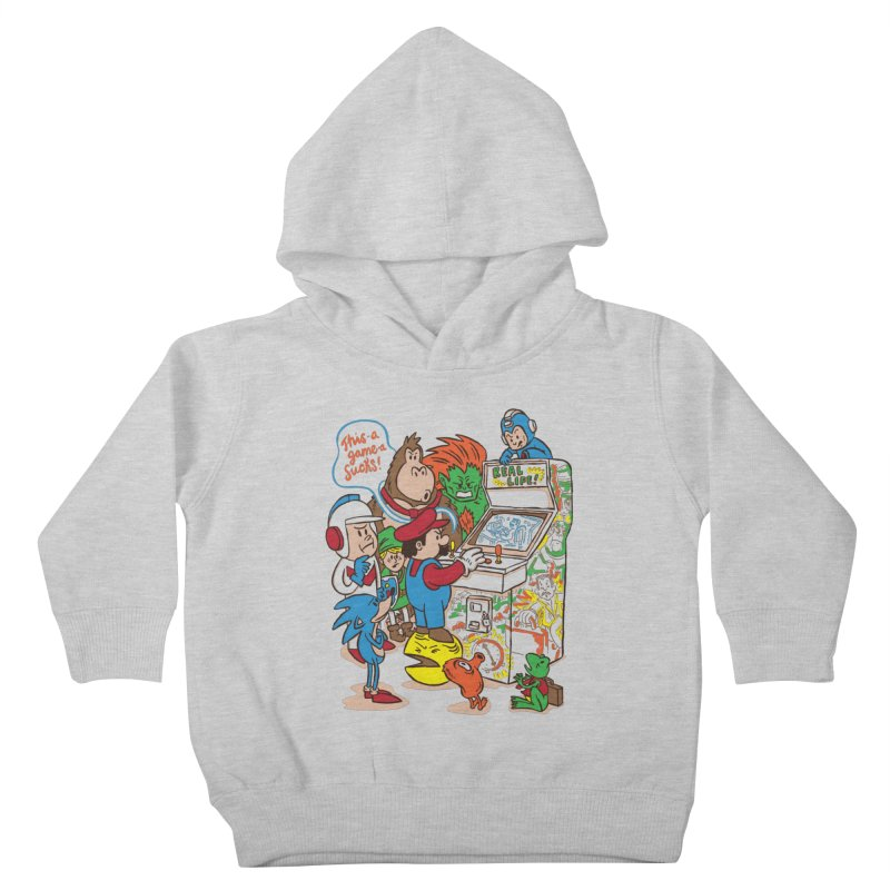 This Game Sucks Kids Toddler Pullover Hoody by WanderingBert Shirts and stuff
