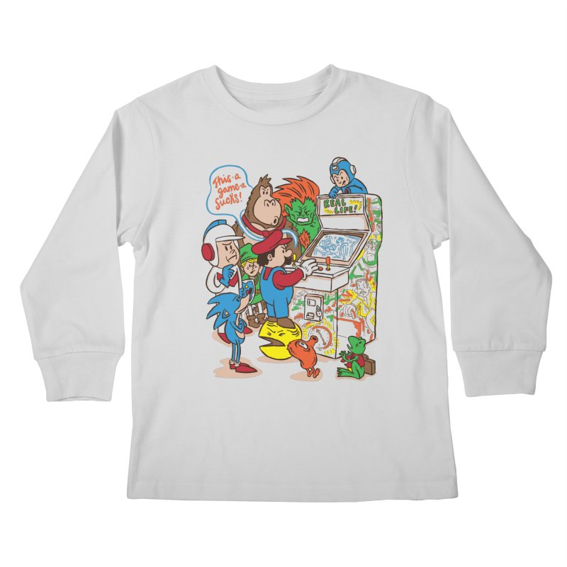 This Game Sucks Kids Longsleeve T-Shirt by WanderingBert Shirts and stuff