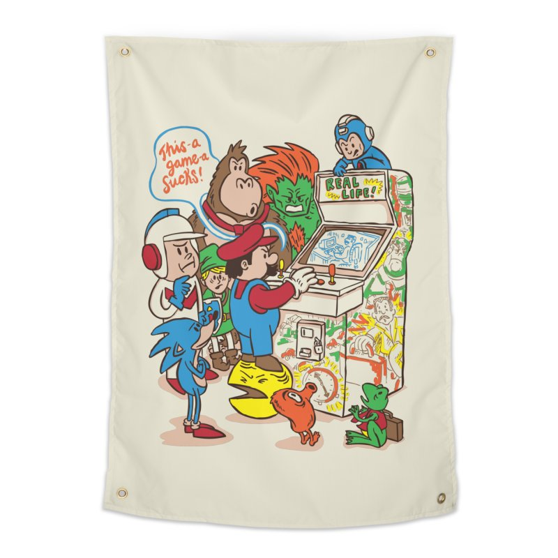 This Game Sucks Home Tapestry by WanderingBert Shirts and stuff