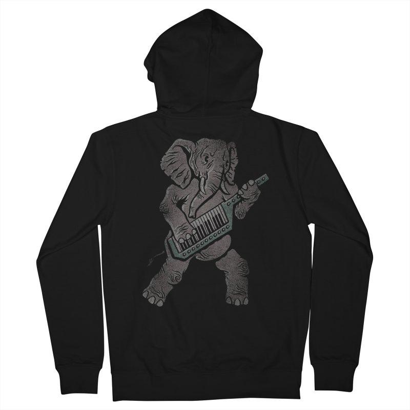 Trunk Rock Men's Zip-Up Hoody by WanderingBert Shirts and stuff