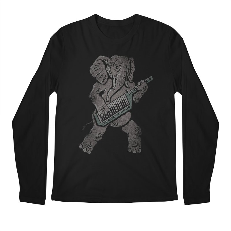 Trunk Rock Men's Longsleeve T-Shirt by WanderingBert Shirts and stuff