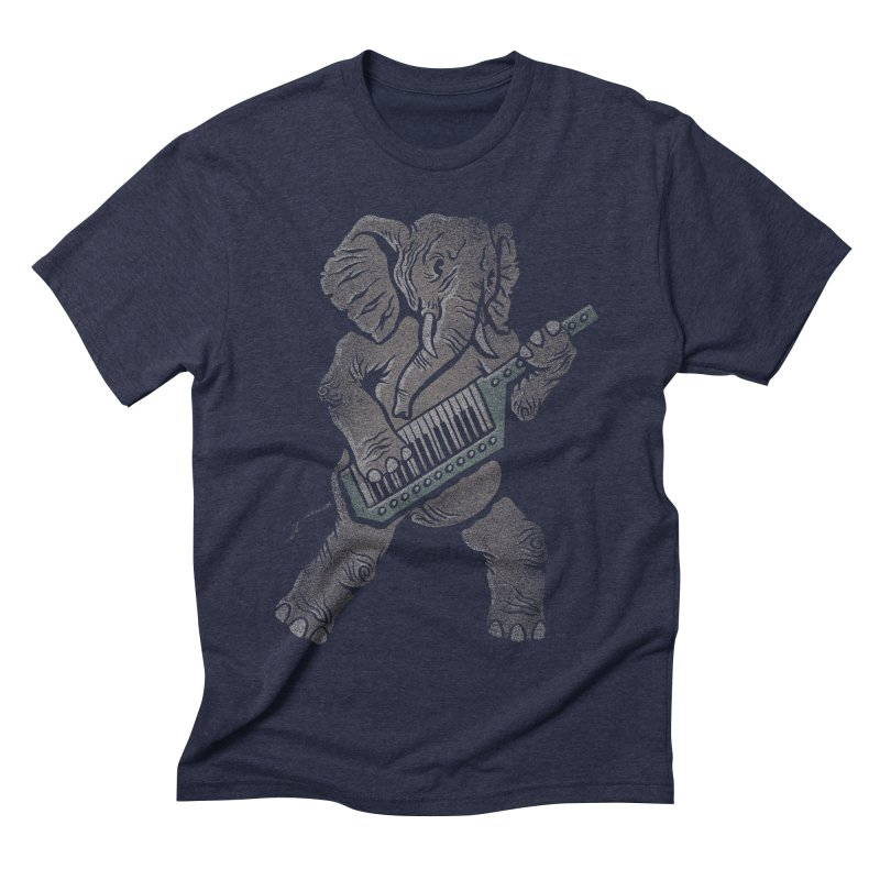 Trunk Rock Men's Triblend T-shirt by WanderingBert Shirts and stuff