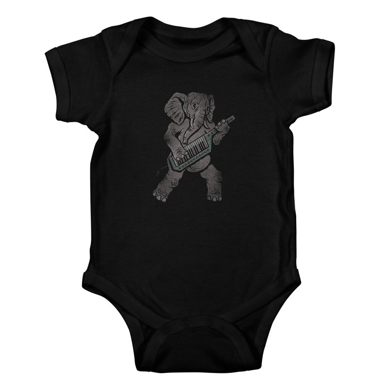 Trunk Rock Kids Baby Bodysuit by WanderingBert Shirts and stuff