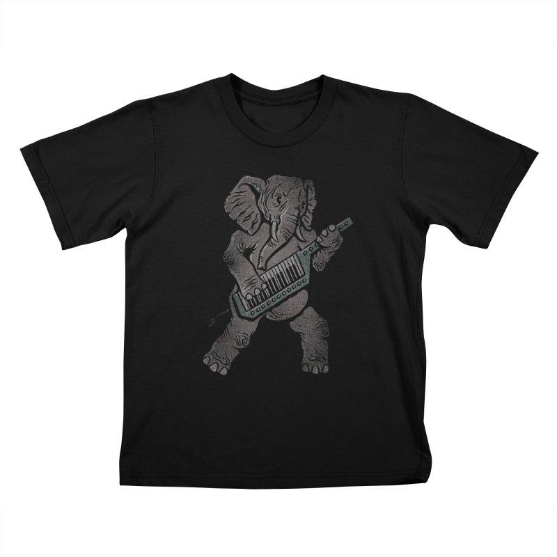 Trunk Rock Kids T-shirt by WanderingBert Shirts and stuff
