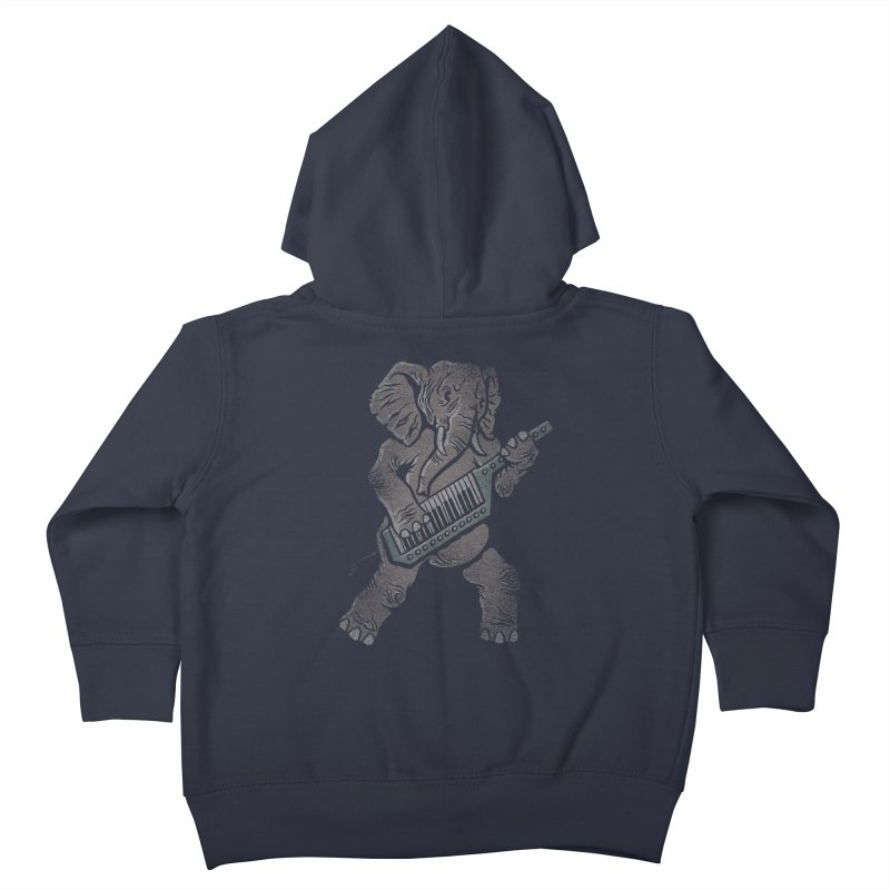 Trunk Rock Kids Toddler Zip-Up Hoody by WanderingBert Shirts and stuff