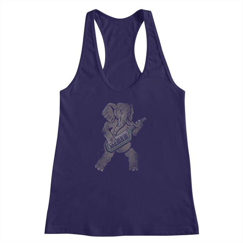 Trunk Rock Women's Racerback Tank by WanderingBert Shirts and stuff