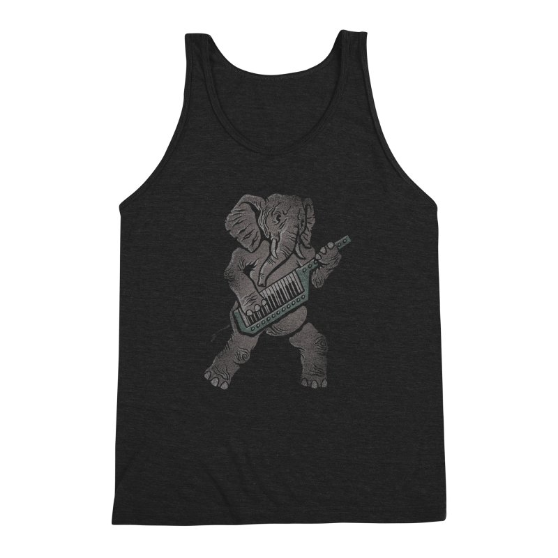 Trunk Rock Men's Triblend Tank by WanderingBert Shirts and stuff