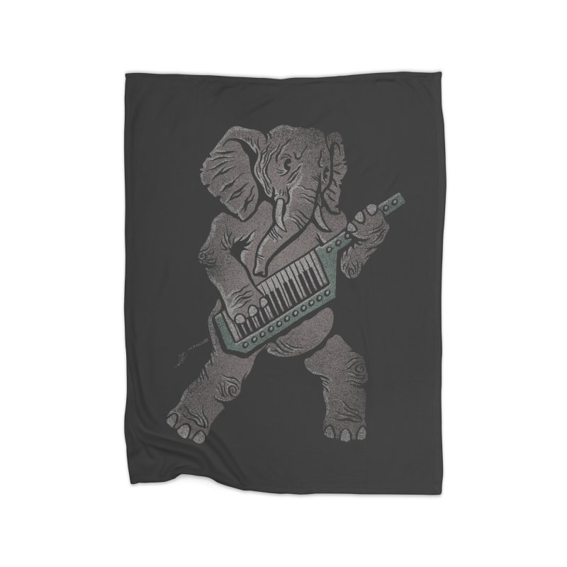 Trunk Rock Home Blanket by WanderingBert Shirts and stuff