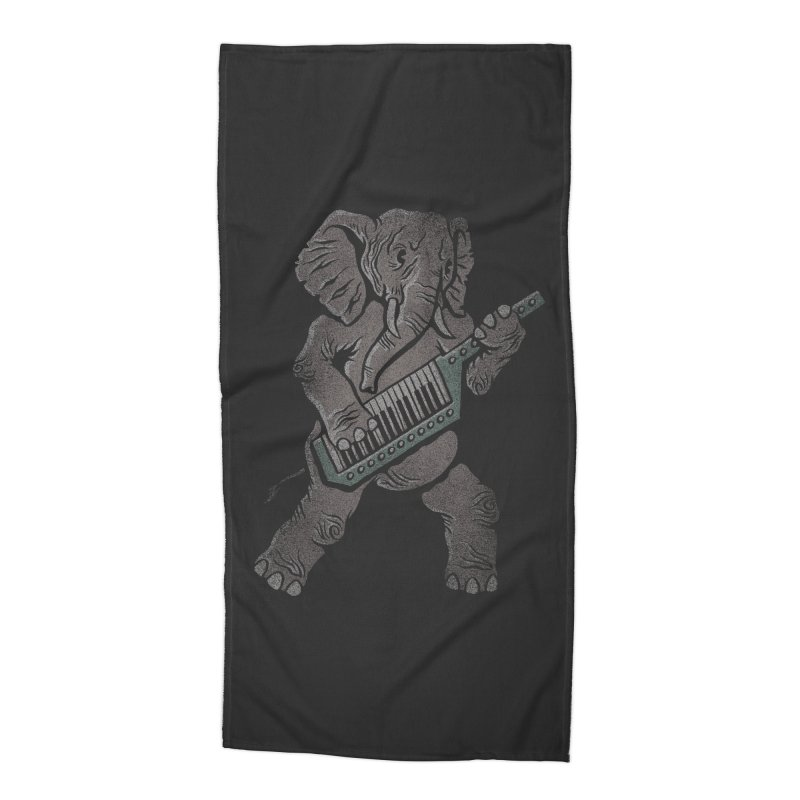 Trunk Rock Accessories Beach Towel by WanderingBert Shirts and stuff