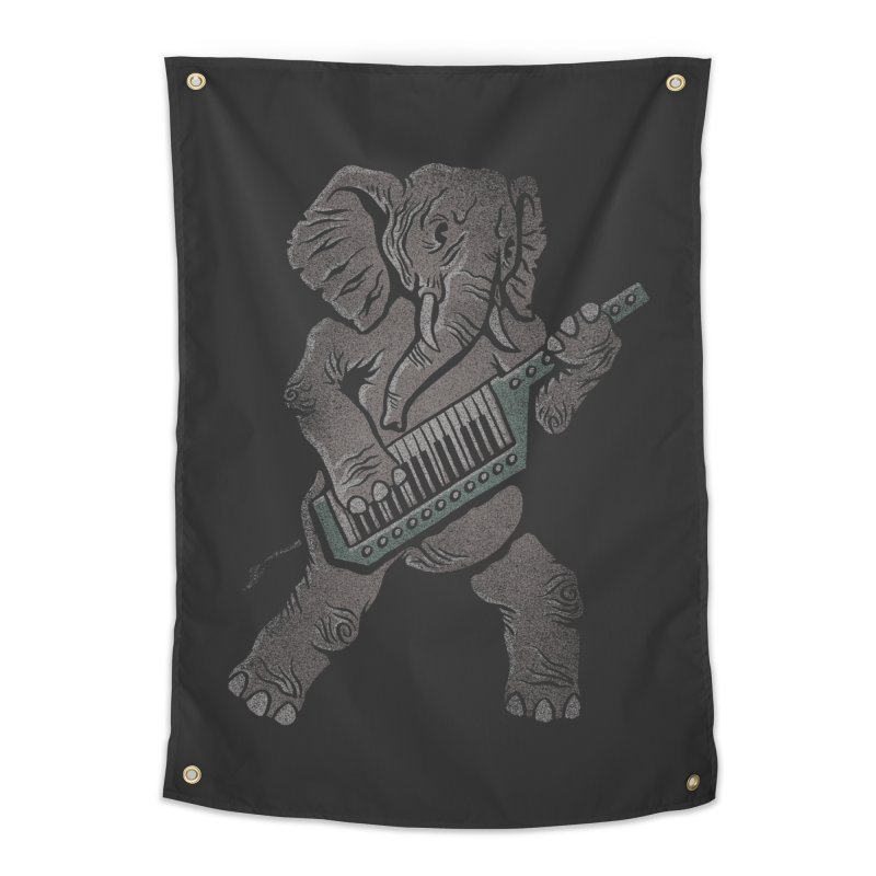 Trunk Rock Home Tapestry by WanderingBert Shirts and stuff