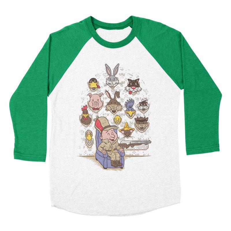 Wevenge Women's Baseball Triblend T-Shirt by WanderingBert Shirts and stuff