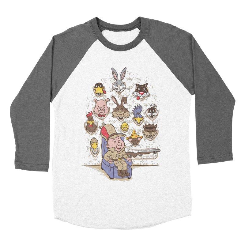 Wevenge Men's Baseball Triblend T-Shirt by WanderingBert Shirts and stuff