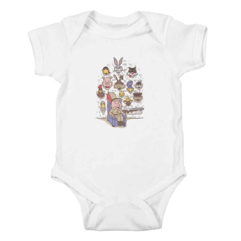 Wevenge Kids Baby Bodysuit by WanderingBert Shirts and stuff