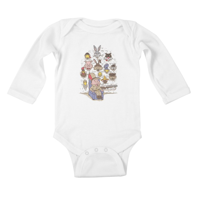 Wevenge Kids Baby Longsleeve Bodysuit by WanderingBert Shirts and stuff