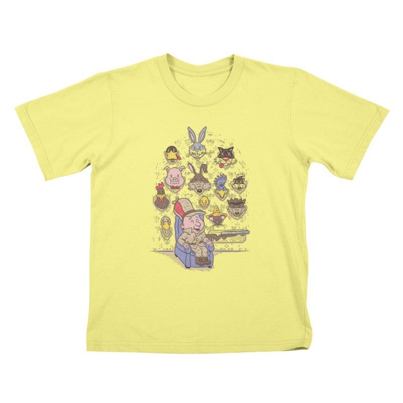 Wevenge Kids T-shirt by WanderingBert Shirts and stuff