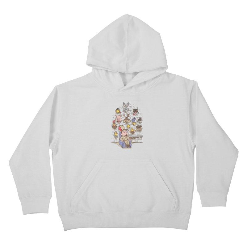 Wevenge Kids Pullover Hoody by WanderingBert Shirts and stuff