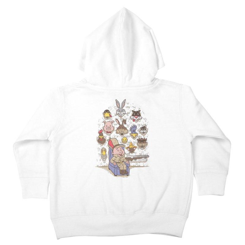 Wevenge Kids Toddler Zip-Up Hoody by WanderingBert Shirts and stuff