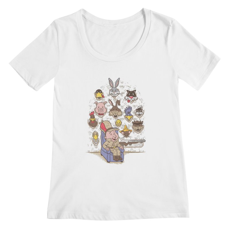 Wevenge Women's Scoopneck by WanderingBert Shirts and stuff