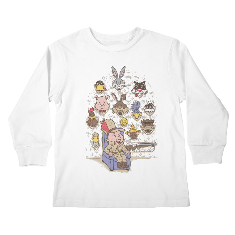 Wevenge Kids Longsleeve T-Shirt by WanderingBert Shirts and stuff