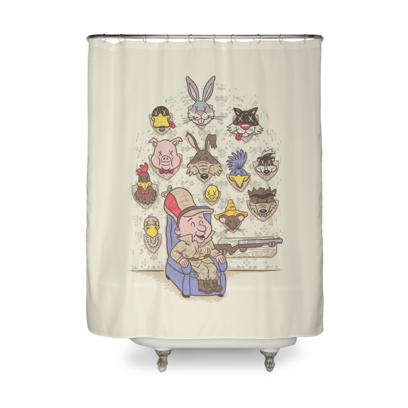 Wevenge Home Shower Curtain by WanderingBert Shirts and stuff
