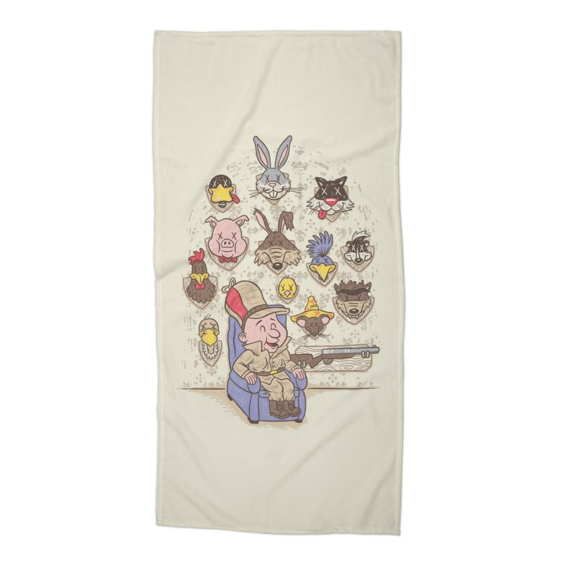 Wevenge Accessories Beach Towel by WanderingBert Shirts and stuff