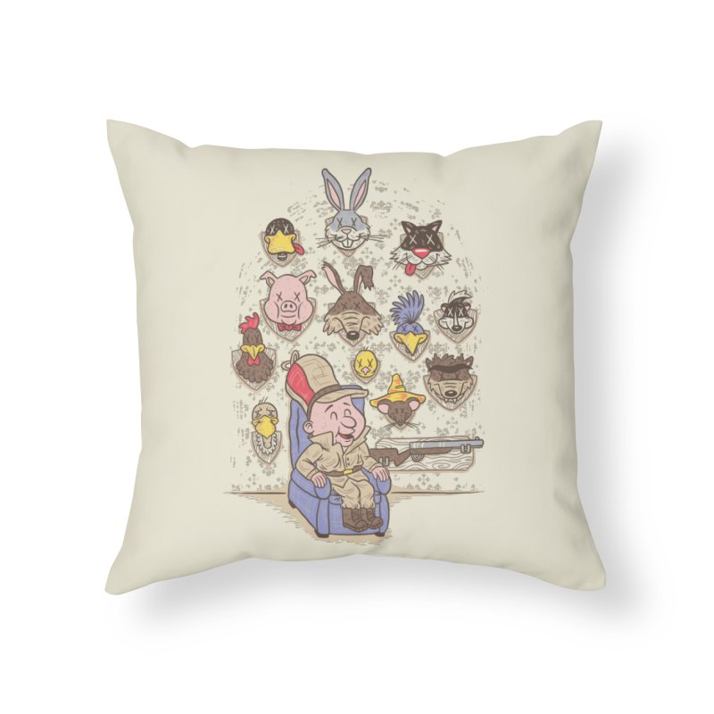 Wevenge Home Throw Pillow by WanderingBert Shirts and stuff