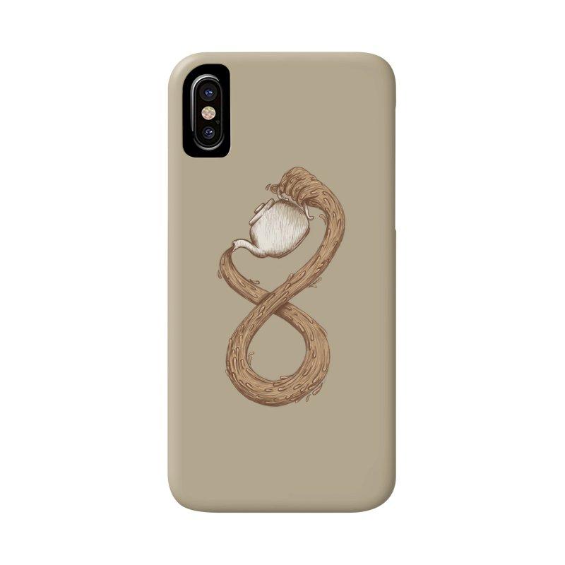Infinite Tea Accessories Phone Case by WanderingBert Shirts and stuff