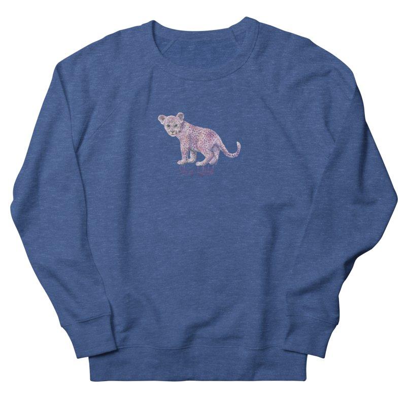 Stay Wild Leopard Cub Men's Sweatshirt by Wandering Laur's Artist Shop
