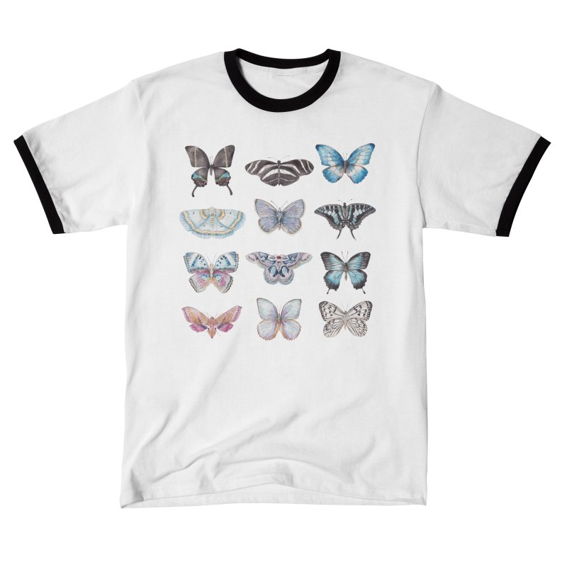 Watercolor Butterflies Women's T-Shirt by Wandering Laur's Artist Shop