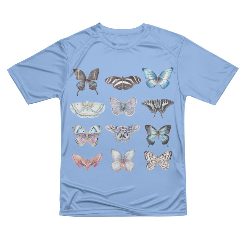 Watercolor Butterflies Men's T-Shirt by Wandering Laur's Artist Shop