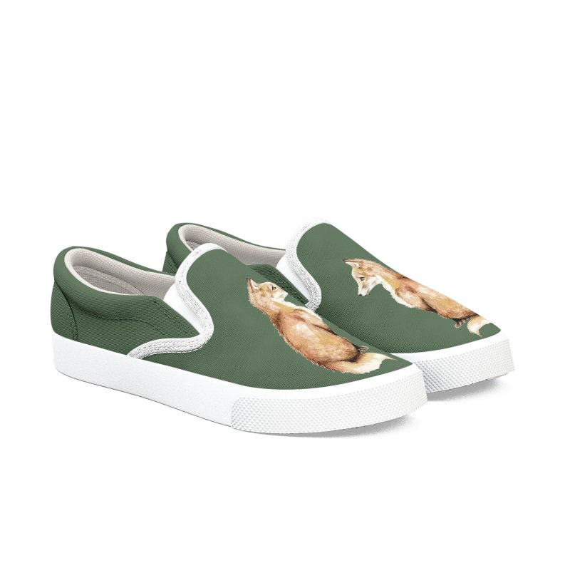 Foxes Mirror Women's Shoes by Wandering Laur's Artist Shop