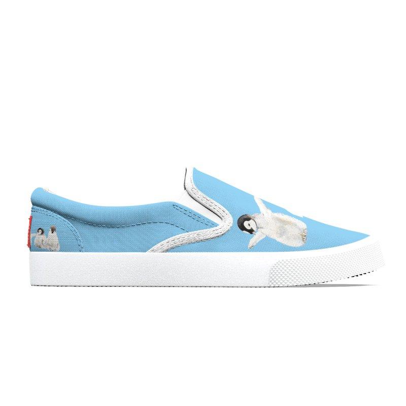 Penguins Women's Shoes by Wandering Laur's Artist Shop