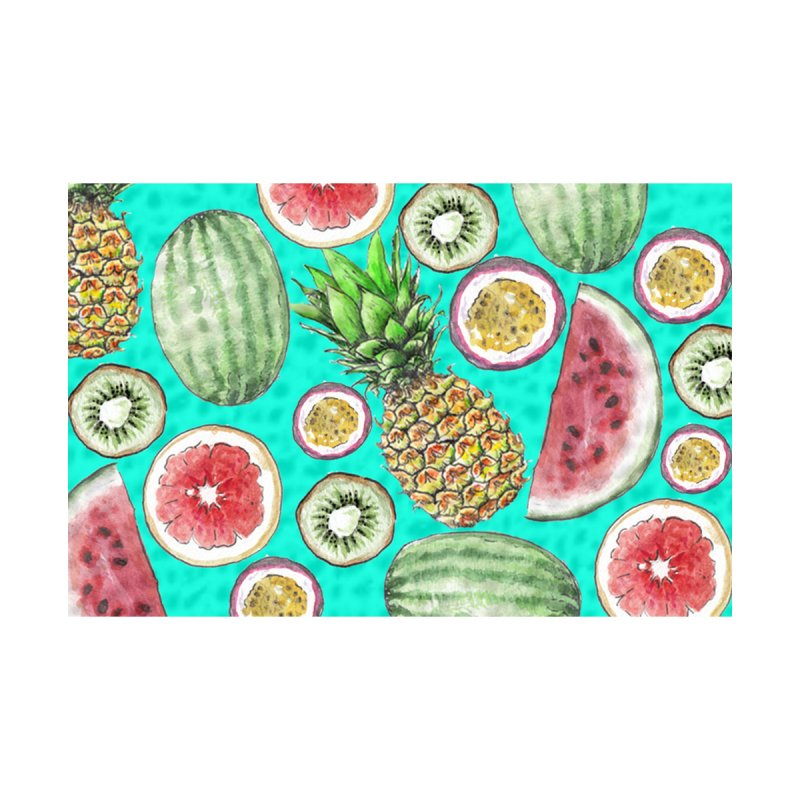 Watercolor Tropical Fruit by Wandering Laur's Artist Shop