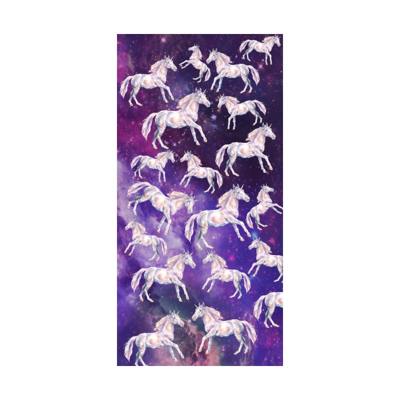 Watercolor Unicorns in a Galaxy by Wandering Laur's Artist Shop