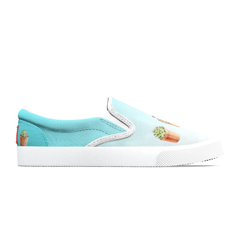 Watercolor Hedgehog and Cactus Women's Shoes by Wandering Laur's Artist Shop