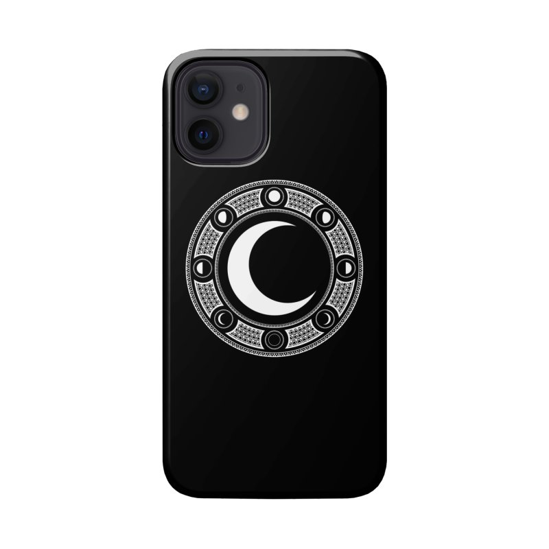 Crescent Moon Emblem Accessories Phone Case by RyanJackAllred