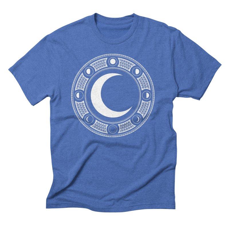 Crescent Moon Emblem Men's T-Shirt by Wandering Moon