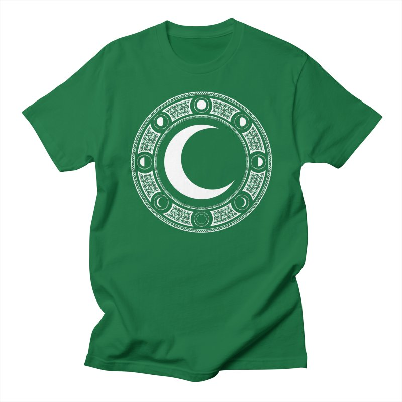 Crescent Moon Emblem Women's Regular Unisex T-Shirt by Wandering Moon