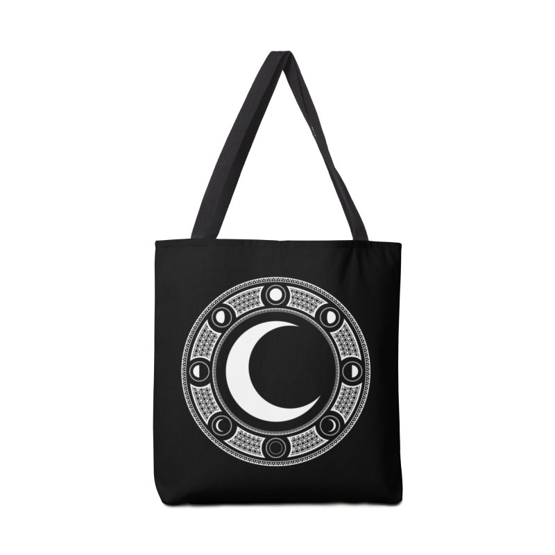 Crescent Moon Emblem Accessories Bag by RyanJackAllred