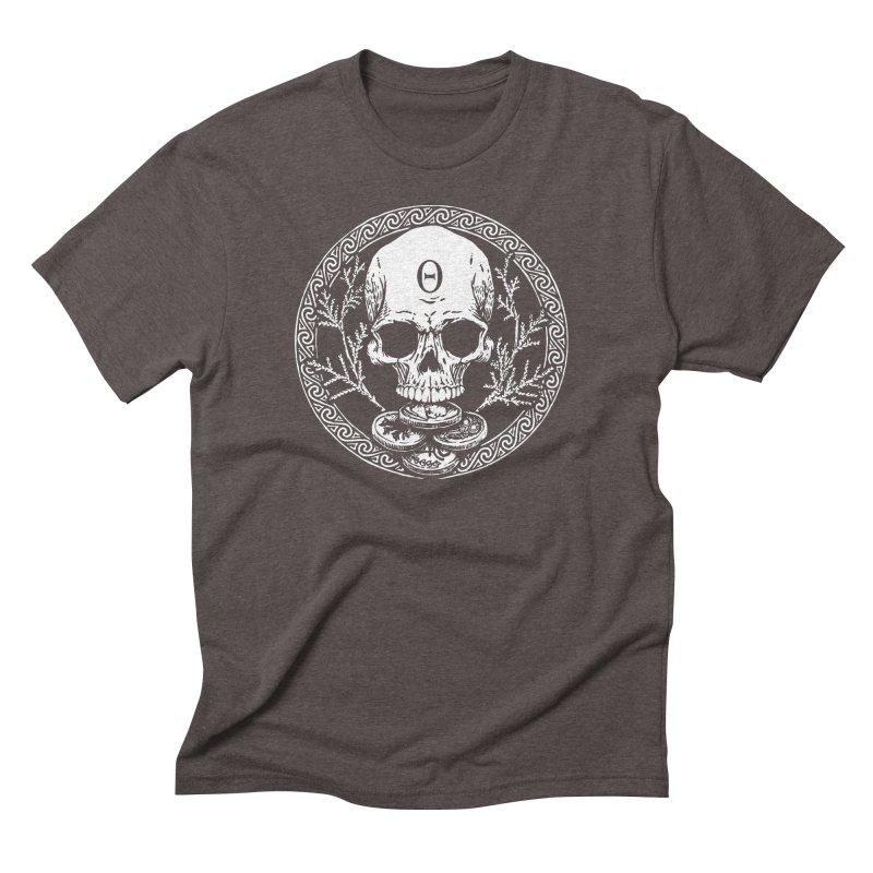 Seal of the Underworld Men's Triblend T-Shirt by Wandering Moon