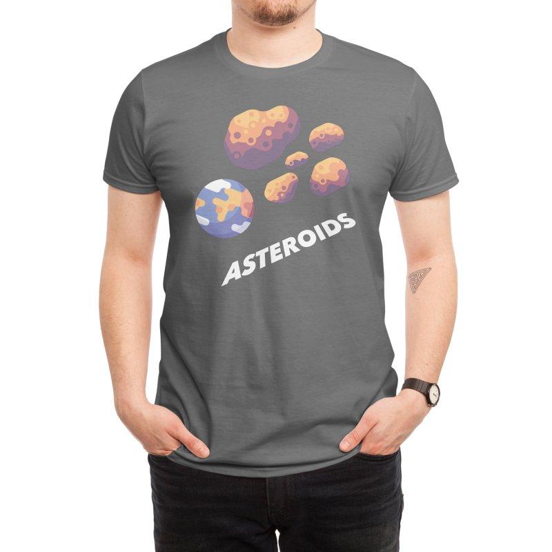 Asteroids Men's T-Shirt by Planeta Errante - Artist Shop