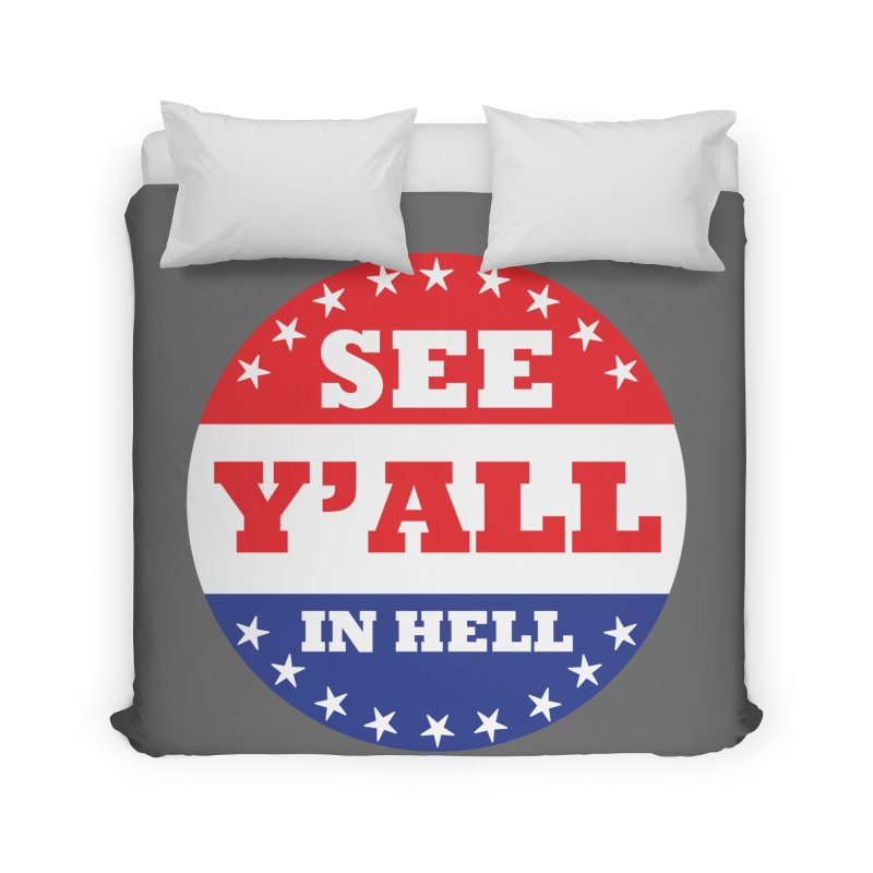 I VOTED I GUESS Home Duvet by Wander Lane Threadless Shop