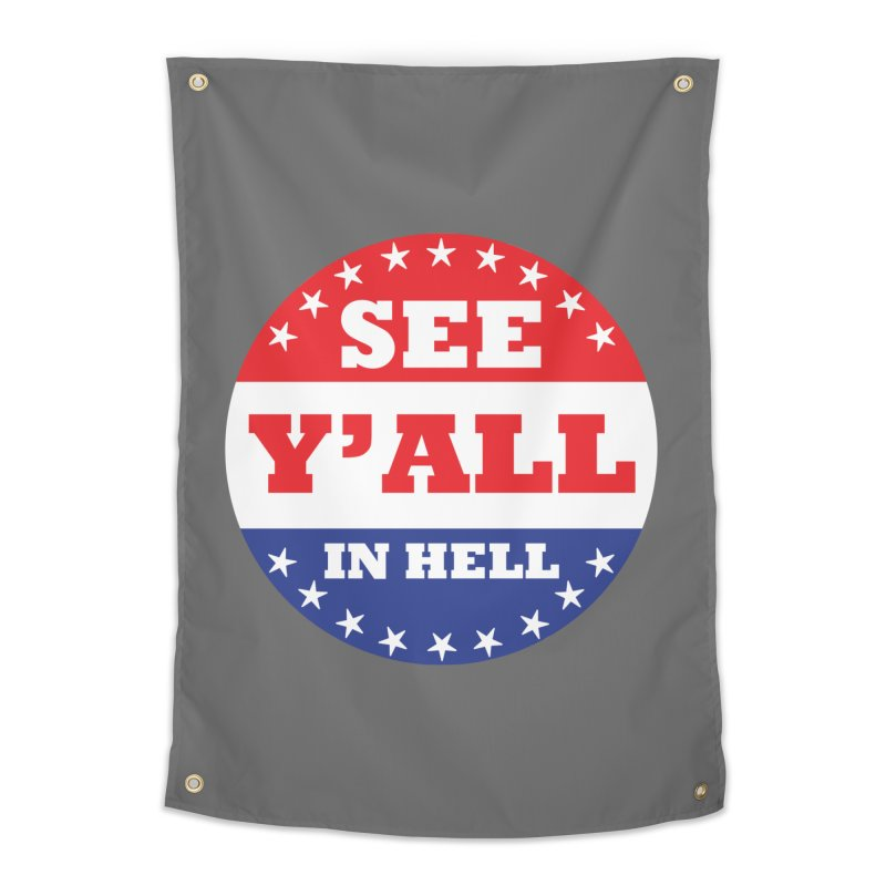 I VOTED I GUESS Home Tapestry by Wander Lane Threadless Shop
