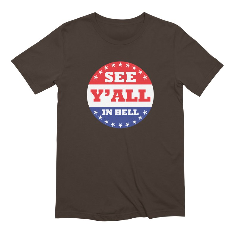I VOTED I GUESS Men's Extra Soft T-Shirt by Wander Lane Threadless Shop