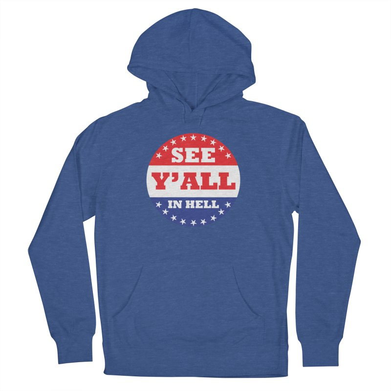 I VOTED I GUESS Women's French Terry Pullover Hoody by Wander Lane Threadless Shop